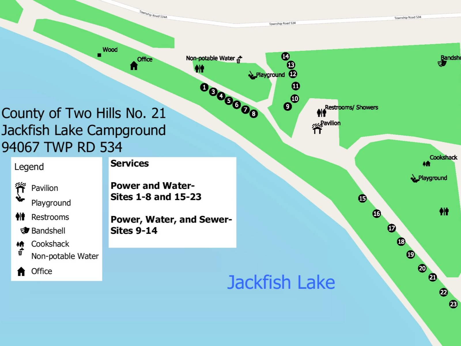 County of Two Hills - Jackfish Lake