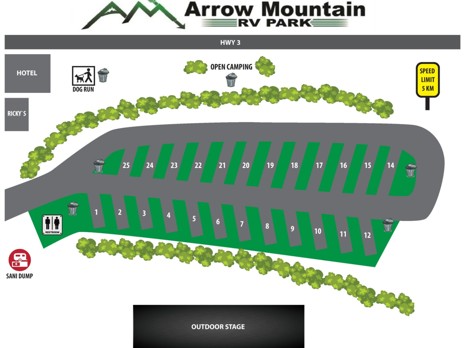 Arrow Mountain RV Park